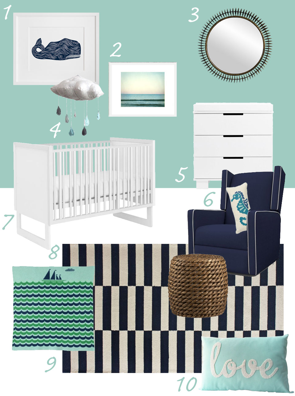 August 2012 for Modern nursery images