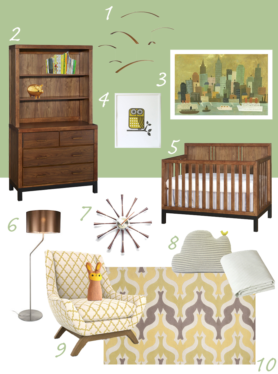 mid century modern baby furniture. Mid Century Modern Baby Furniture V