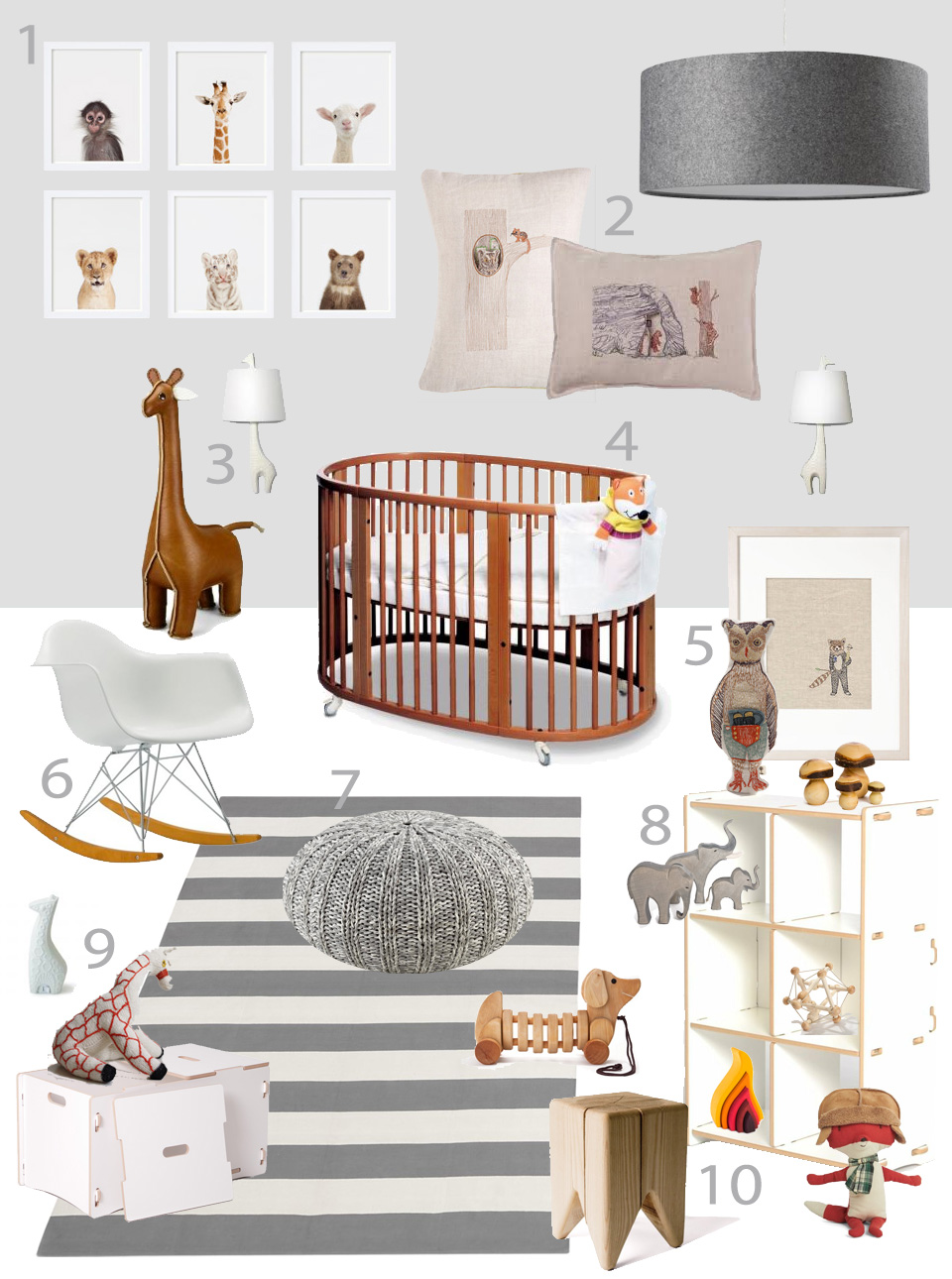 January 2013 for Modern nursery images